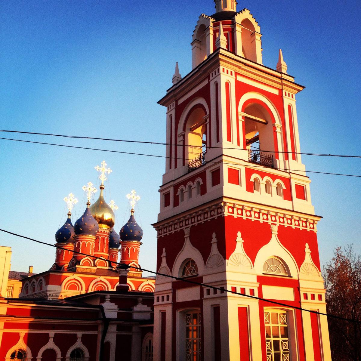 Церковь в Зарядье