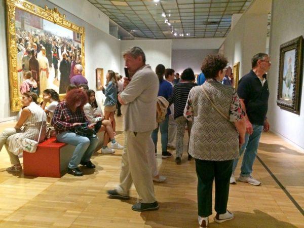 Выставка Репина в Третьяковской галерее 2019
