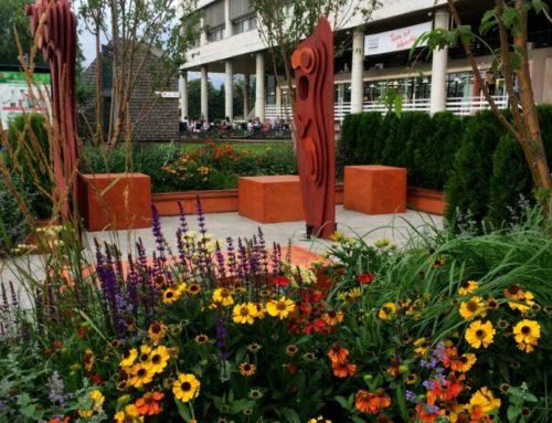 Фестиваль «Цветочный джем»: сад Topographical flower stories в Музейоне