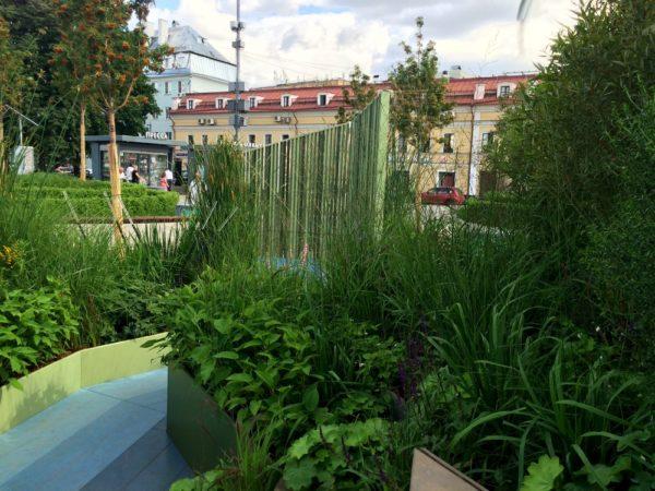 """Фестиваль """"Цветочный джем"""": Неглинка-сад на Сухаревской"""