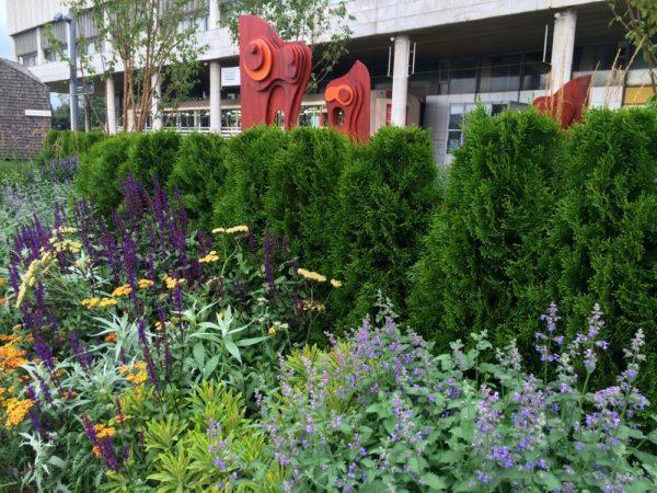 "Фестиваль ""Цветочный джем"": сад Topographical flower stories в Музейоне"