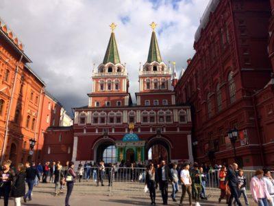 Воскресенские ворота_Красная площадь