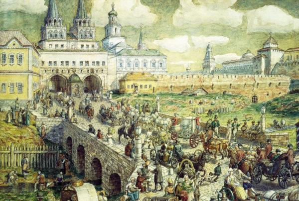 4 имени Воскресенских ворот, или секретная миссия китайгородской башни