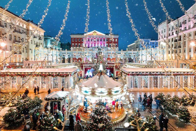 """Фестиваль """"Путешествие в Рождество"""" 2019-2020: программа, площадки, расписание"""